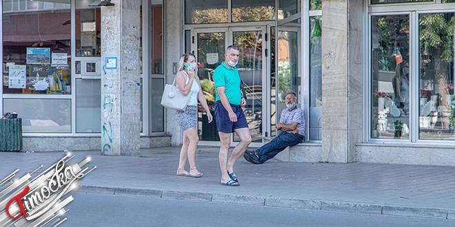 Град Зајечар — Људи шетају