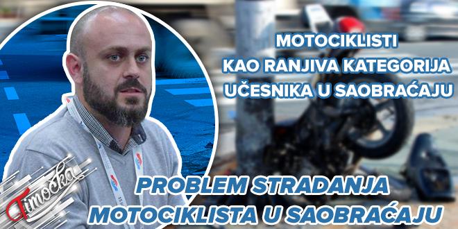 Мастер инж. саобраћаја из Бора Игор Велић: Проблем страдања мотоциклиста у саобраћају