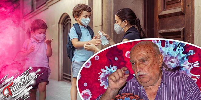 Rajačka narodna škola zdravlja: Deca, škola — COVID-19