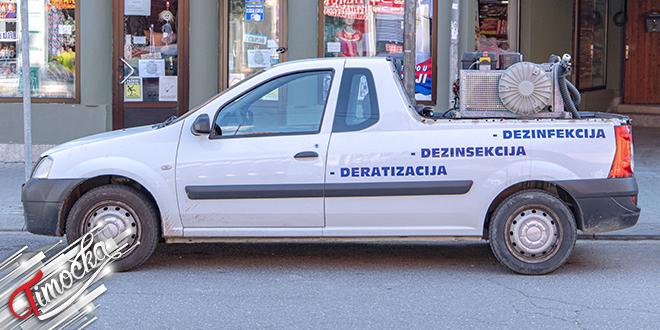 Vozilo za deratizaciju, dezinsekciju i dezinfekciju