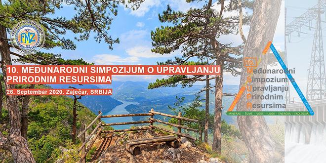 10. Međunarodni simpozijum o upravljanju prirodnim resursima