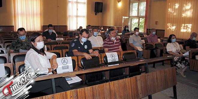 32. vanredna sednica Štaba za vanredne situacije opštine Negotin