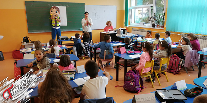 """Crveni krst Zaječar: Akcija """"Bezbednost dece u saobraćaju"""""""