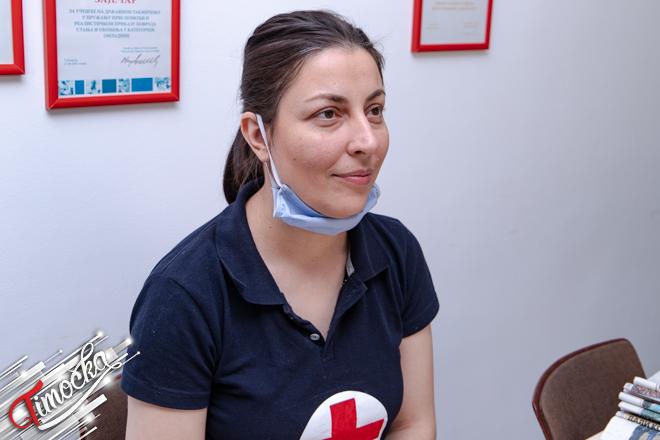 Irena Mladenović — stručni saradnik u zaječarskom Crvenom krstu