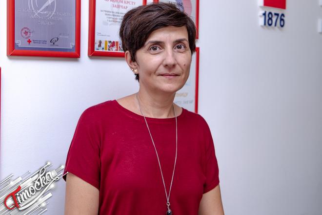 Jelena Dimović — profesorka srpskog jezika u Gimnaziji Zaječar