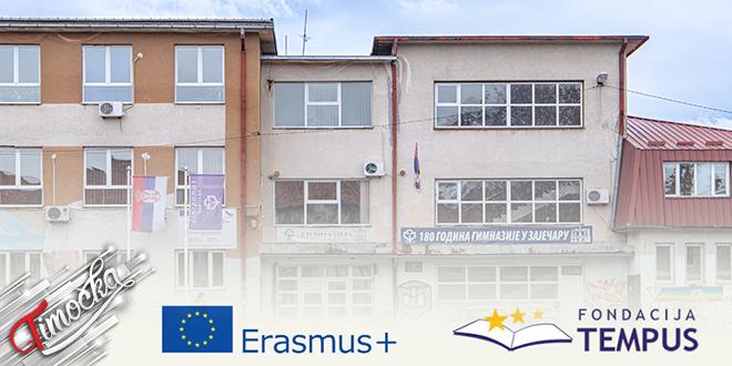 Gimnazija Zaječar: Dva evropska projekta