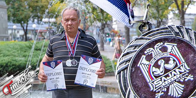 Golub Lalić — Otvoreno prvenstvo Srbije u sportskom obaranju ruke