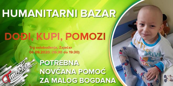 """Humanitarni bazar """"Dođi, kupi, pomozi"""" u Zaječaru: Novčana pomoć za malog Bogdana Gicovića"""