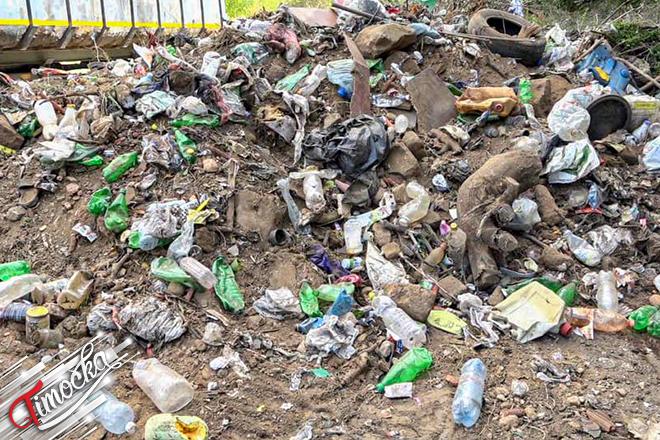 Sanacija privremene deponije u selu Mali Izvor