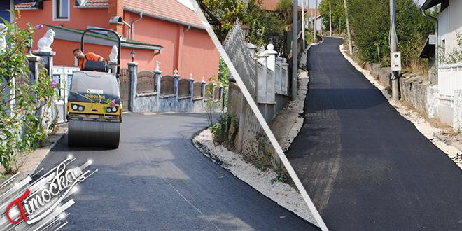 Uređene dve ulice u Dušanovcu