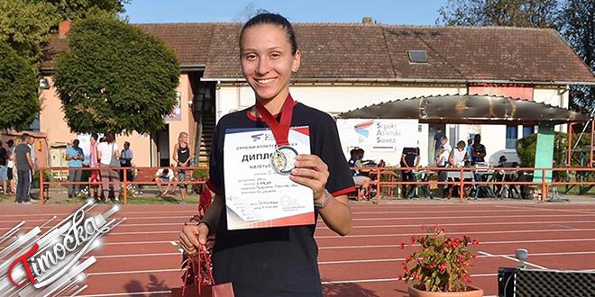 Zaječarka Iva Maletić — Juniorska šampionka Srbije u atletici