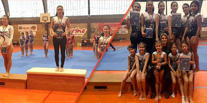 """Gimnastički klub """"Zaječar"""": Takmičenje u Knjaževcu"""