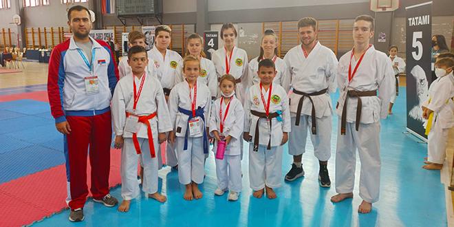 """Gradski karate klub """"Zaječar"""": 32. Fudokan prvenstvo Srbije u Nišu"""