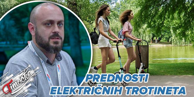Master inž. saobraćaja iz Bora Igor Velić: Prednosti električnih trotineta
