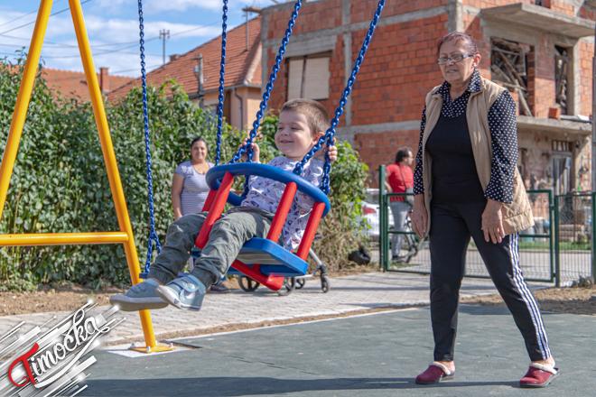 Naselje Izvorski put u Zaječaru: Savremeni dečiji park