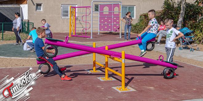 Насеље Изворски пут у Зајечару: Савремени дечији парк