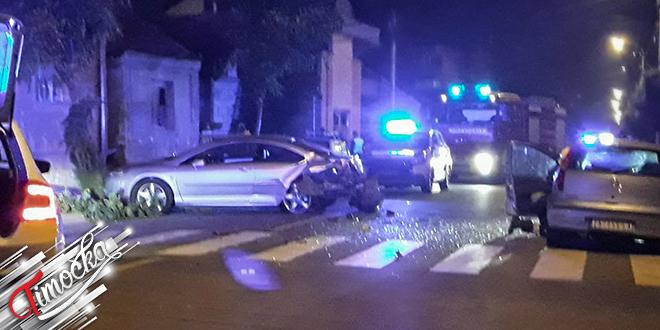 Saobraćajna nezgoda u ulici Svetozara Markovića u Zaječaru