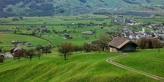 Сеоски пејзаж, село