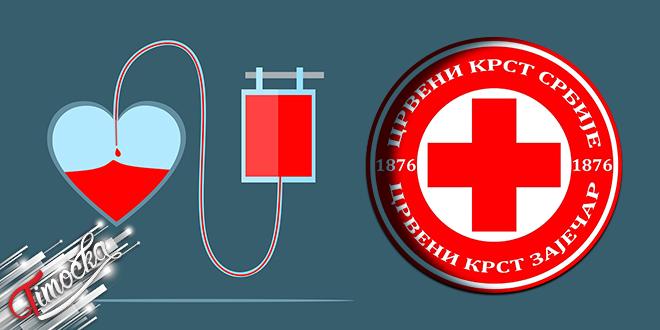 Црвени крст Зајечар: Добровољно давање крви