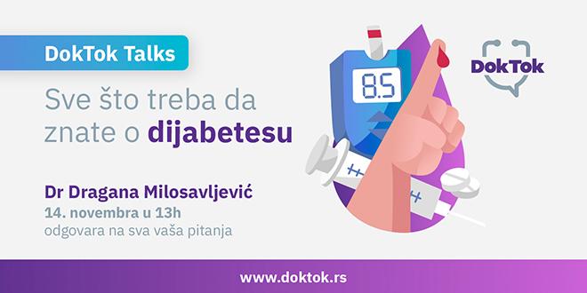 ДокТок: Све што треба да знате о дијабетесу