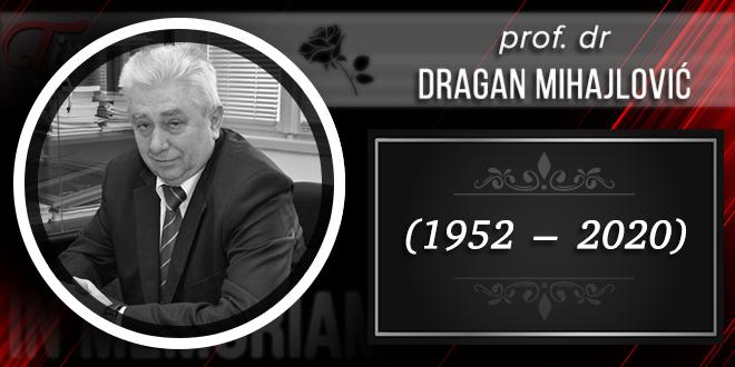 In Memoriam — Драган Михајловић (1952–2020)
