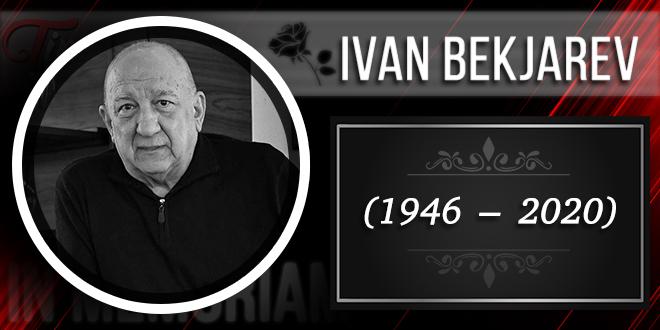 In Memoriam — Иван Бекјарев (1946–2020)
