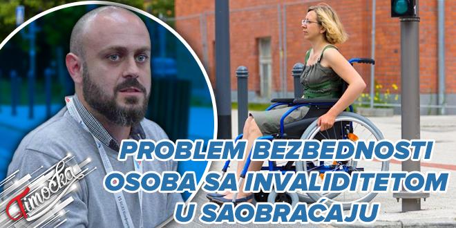 """""""Сигурне стазе"""": Проблем безбедности особа са инвалидитетом у саобраћају"""