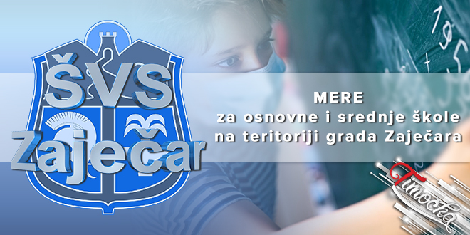 Mere za osnovne i srednje škole na teritoriji grada Zaječara