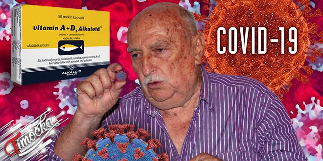 Рајачка народна школа здравља: Витамин А + Д3 Алкалоид — COVID-19