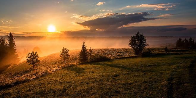 Sunce, magla