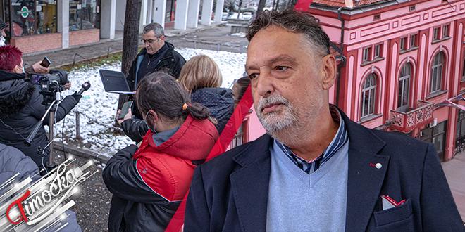 Градоначелник Зајечара Бошко Ничић: Обраћање поводом враћања медаље доктора Ненада Ристовића
