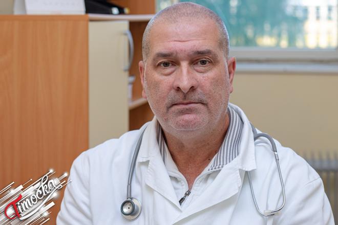 Dr Mirko Nikolić — načelnik Pedijatrijske službe u Zaječaru