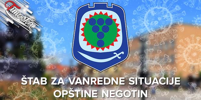 Štab za vanredne situacije opštine Negotin: COVID-19