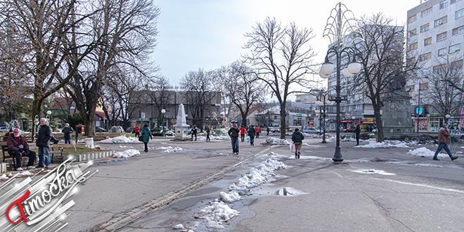 Grad Zaječar — Centar, zima