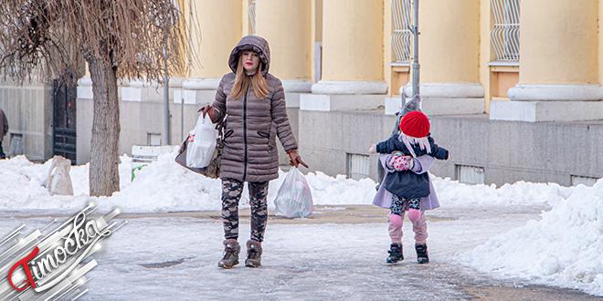 Град Зајечар — Зима, снег