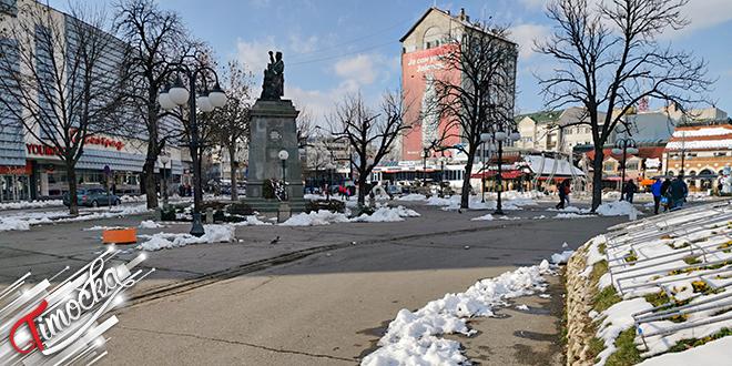 Grad Zaječar — Zima