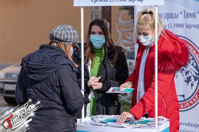 "ZZJZ ""Timok"" Zaječar: Evropska nedelja prevencije raka grlića materice"