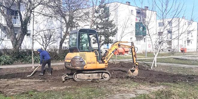 Krenula izgradnja teretane na otvorenom u zaječarskom naselju Kotlujevac