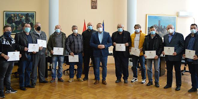 Dodeljena priznanja poverenicima civilne zaštite u Boru