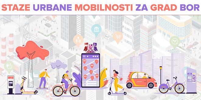 """Udruženje """"Sigurne staze"""": Projekat """"Staze urbane mobilnosti na teritoriji grada Bora"""""""