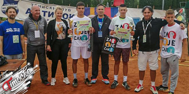 """Teniski turnir """"Timočka Krajina Open 2021"""" u Zaječaru"""