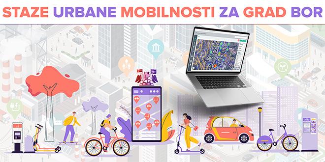 """Udruženje """"Sigurne staze"""": Projekat """"Staze urbane mobilnosti na teritoriji grada Bora"""" — Bor dobio interaktivnu GIS platformu za urbanu mobilnost"""