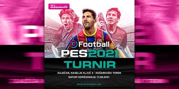 "Tehnomedia: ""PES 2021"" turnir 11. avgusta u Zaječaru"