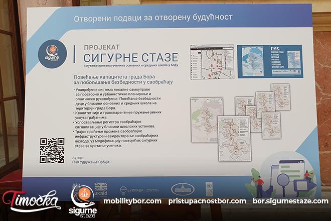 """Udruženje """"Sigurne staze"""" Bor: Projekti urbane mobilnosti iz Bora predstavljeni u Domu Narodne skupštine"""