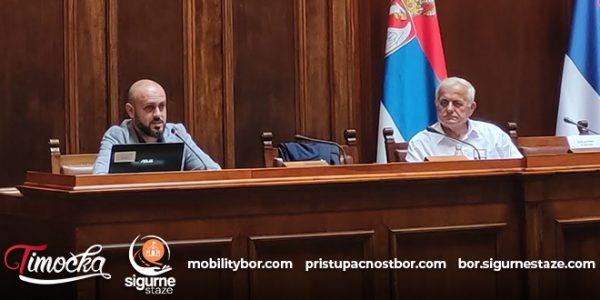 Projekti urbane mobilnosti iz Bora predstavljeni u Domu Narodne skupštine